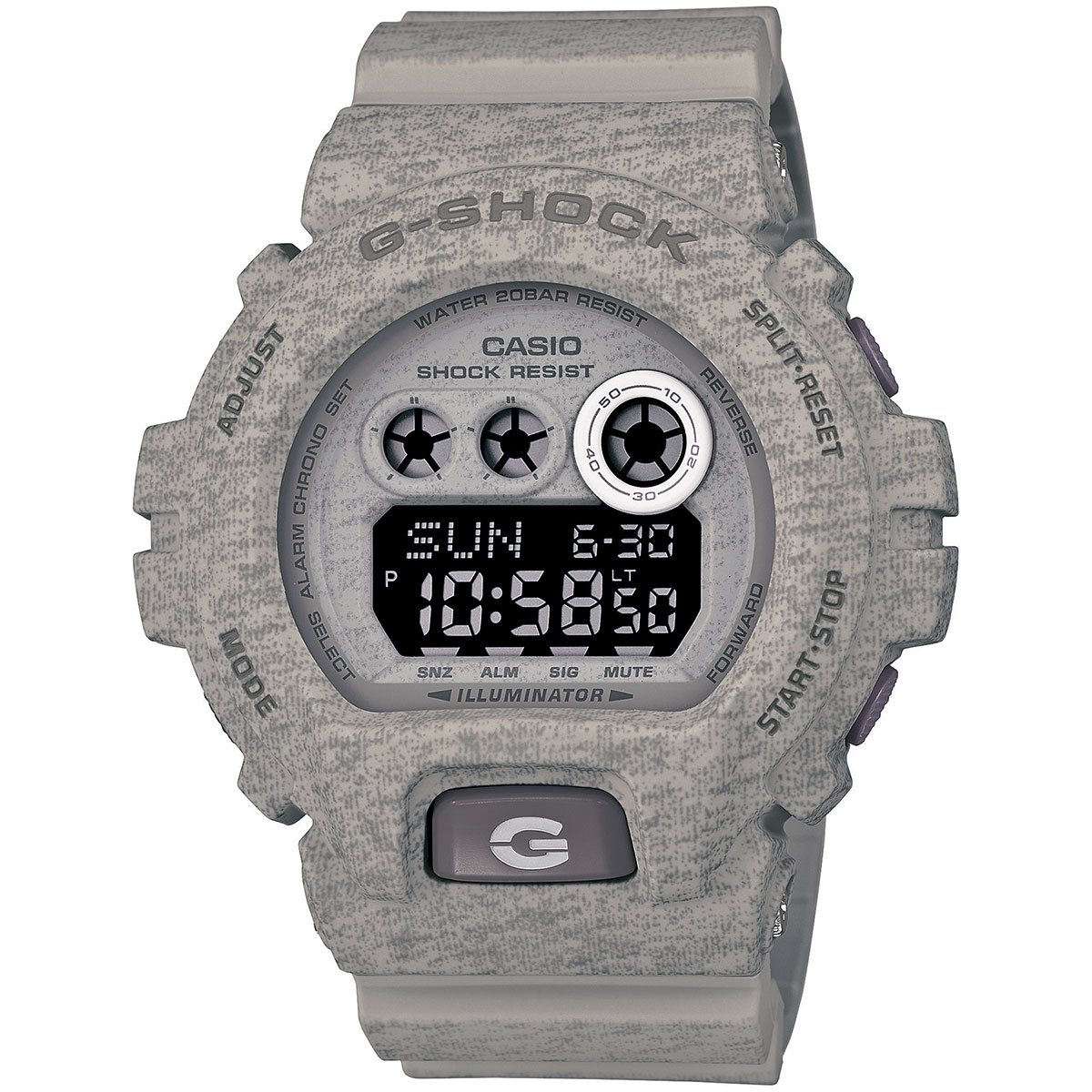 Casio Carlo Milano G Shock Camouflage Gd 120cm 4dr You